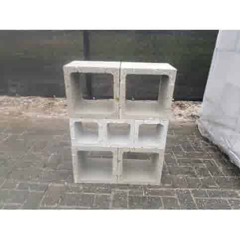 Betonblok (open) 20x20x20 cm