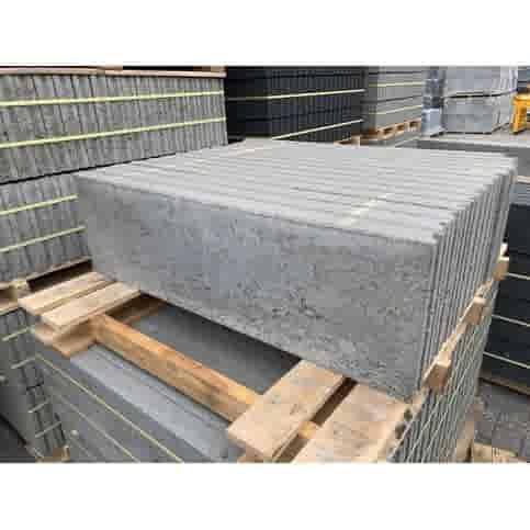 Boordstenen grijs 6x30x100 cm