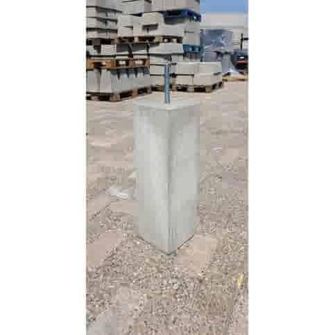 Prefab Betonpoer grijs 15x15x50 cm M16