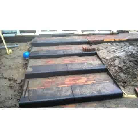 Traptreden antraciet 15x40x100 cm Oud Hollands