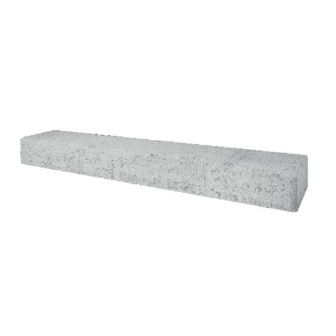 Betonbielzen grijs 120 cm lang