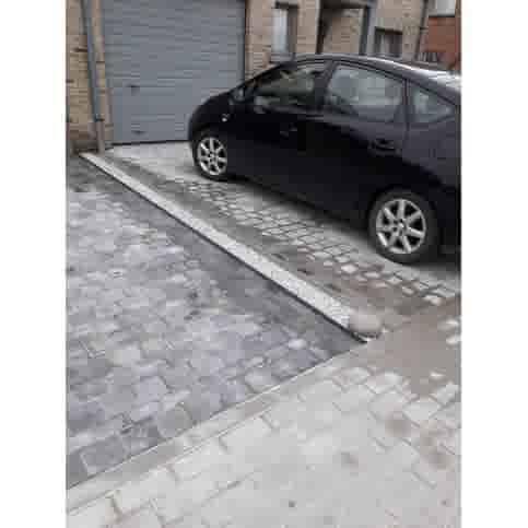 Betonnen bol grijs beton 20 cm