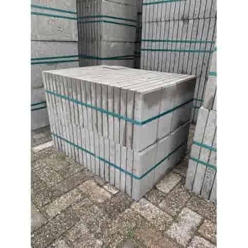 Betontegel  grijs 30x15x4,5 cm met facet