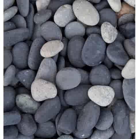 Beach pebbles zwart 16/25 mm Zakje 20 kg