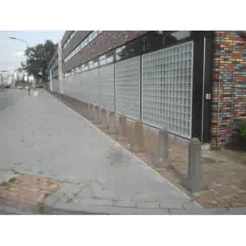 Bolderpaal (type 1) grijs beton H 105 cm