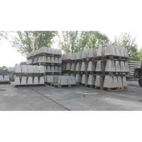 Prefab Betonpoer grijs 15x15x35 cm M10