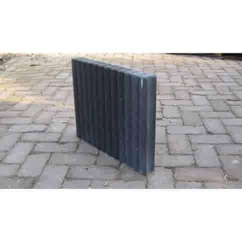 Palissadebanden Ø 6x40x50 cm antraciet