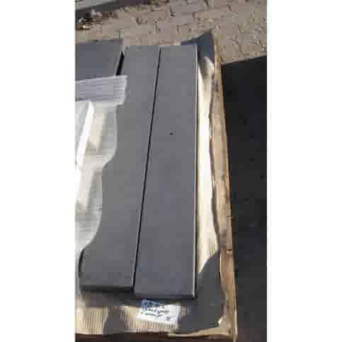 Muurafdekkers beton vlak antraciet 20x100
