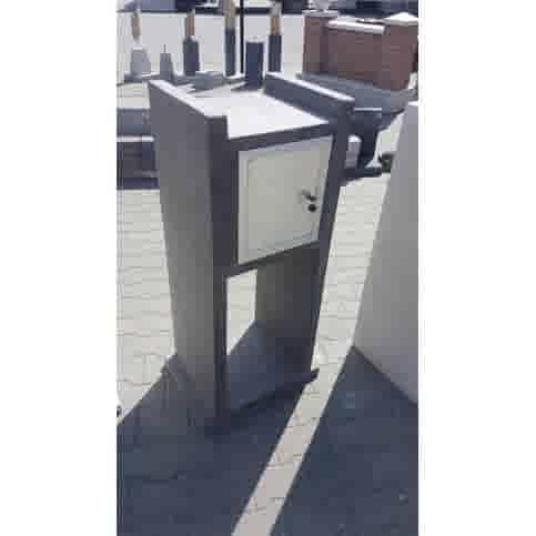 Betonnen brievenbus Vono