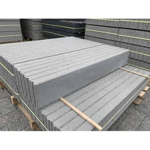 Opsluitbanden 5x15x100 grijs