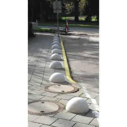 Parkeerbol grijs Ø33 cm