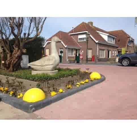 Parkeerbol geel Ø33 cm