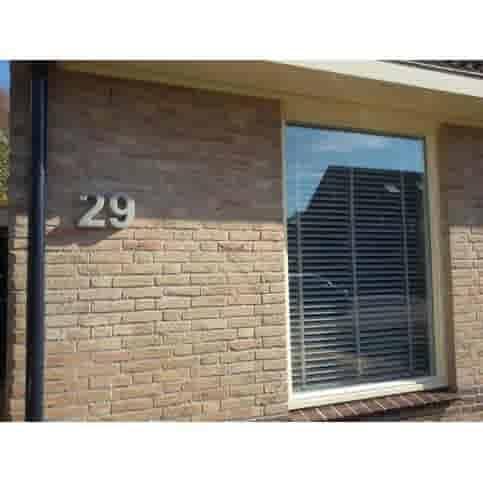 Huisnummer beton 2