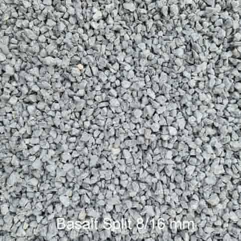 Basalt split 8/16 mm zak 20 kg