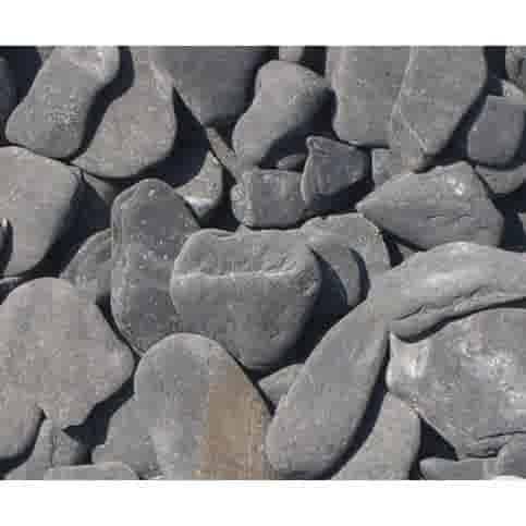 Flat pebbles zwart zak 20 kg