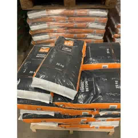 Snelbeton 25 kg plastic zak