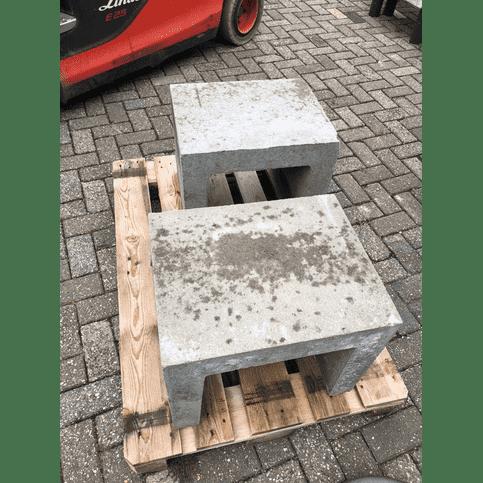 B-keus U-element grijs 50 cm