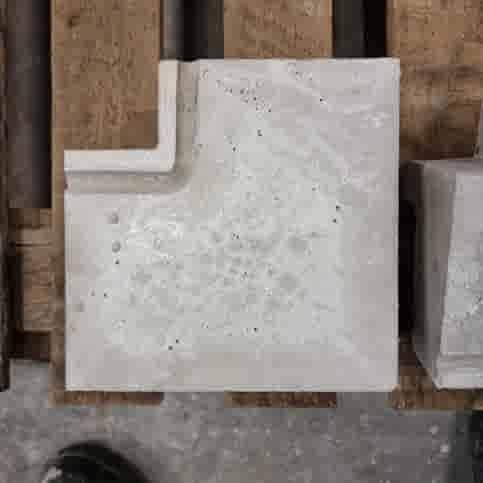 Raamdorpel hoekstuk inwendig 16x9,5/5 cm