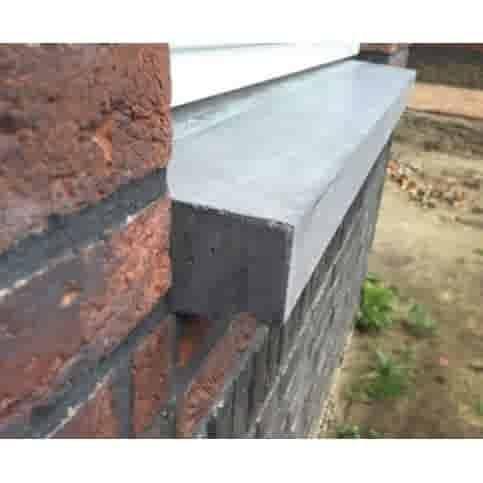 Raamdorpels beton 38x11/5 cm